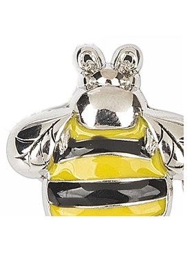 dfe0d01e845a Product Image The Bumble Bee Black and Yellow Accent Fashion Pin - By Ganz