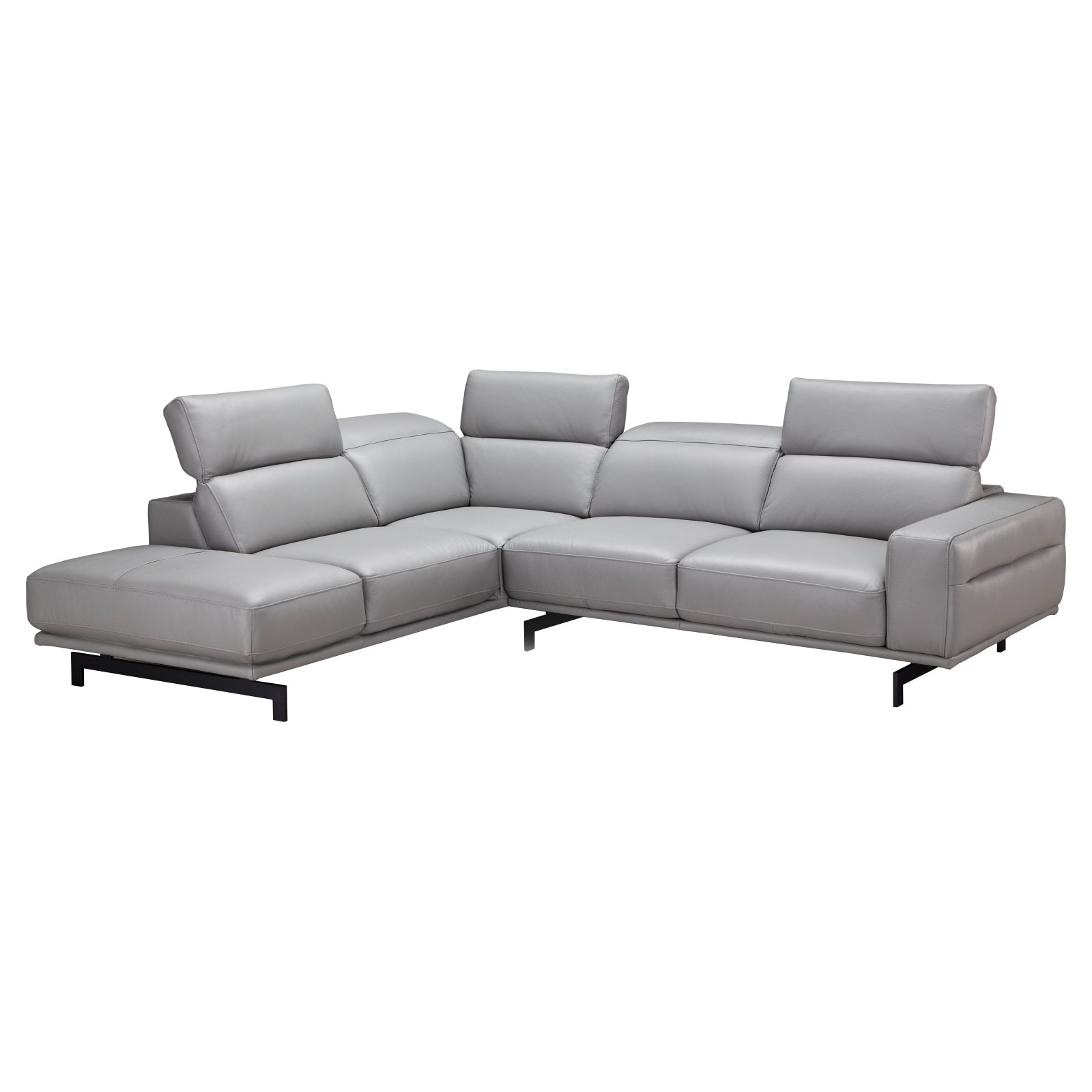 J Amp M Furniture Davenport Sectional Sofa Walmart Com