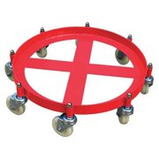 48J136 Cap 2000 lb Drum Dolly, 55 gal Drum by VALUE BRAND