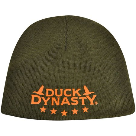 - Duck Dynasty Reversible Cuffless A&E TV Series Knit Beanie Toque Camouflage Hat