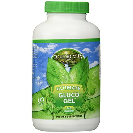 Youngevity Ultimate Gluco Gel   240 Capsules