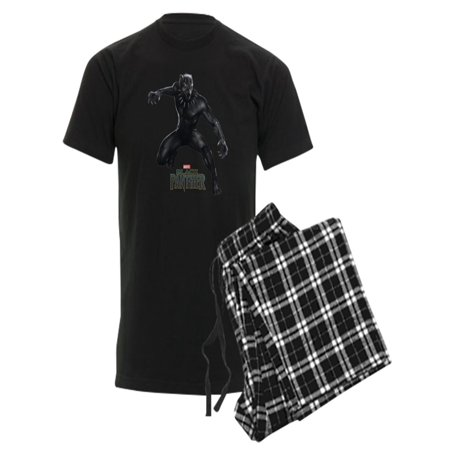 1f025151 CafePress - Black Panther Pose - Men's Dark Pajamas