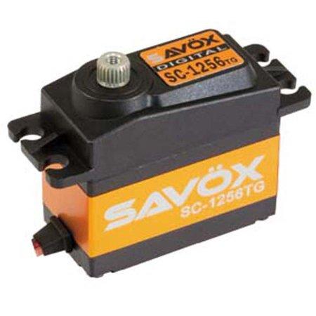 Hobby Rc Savox Savsc1256Tg Std Size Coreless Digital Servo .15/277 Servos