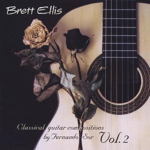 Brett Ellis Classical Guitar Composition by Fernando Sor Vol.2 [CD] by