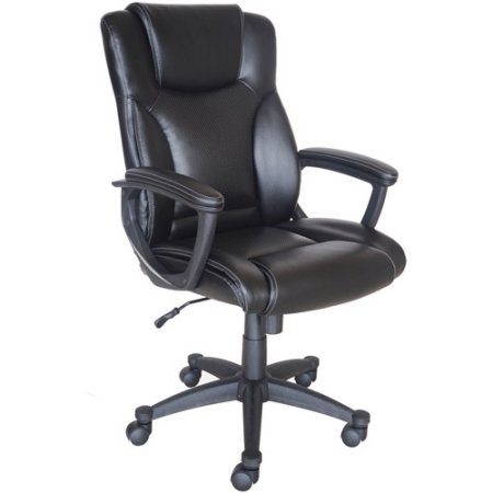 Office Chairs Walmart >> Broyhill Bonded Leather Manager Chair - Walmart.com