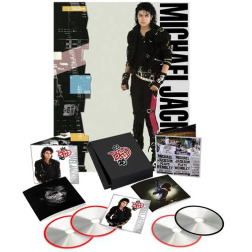 Bad: 25th Anniversary (Deluxe Edition) (3 CD + 1 DVD)