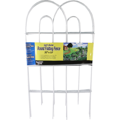Garden Zone Round Folding Fence Border by Garden Zone