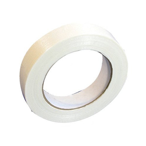 Tesa Tapes Economy Grade Filament Strapping Tapes - 53327 2 x 60yds clear filament tape (Set of 24)
