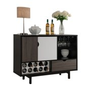 Smart Home Contemporary Wine Bar Cabinet