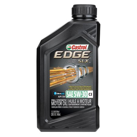 castrol edge 5w 30 c3 advanced full synthetic motor oil 1 qt. Black Bedroom Furniture Sets. Home Design Ideas