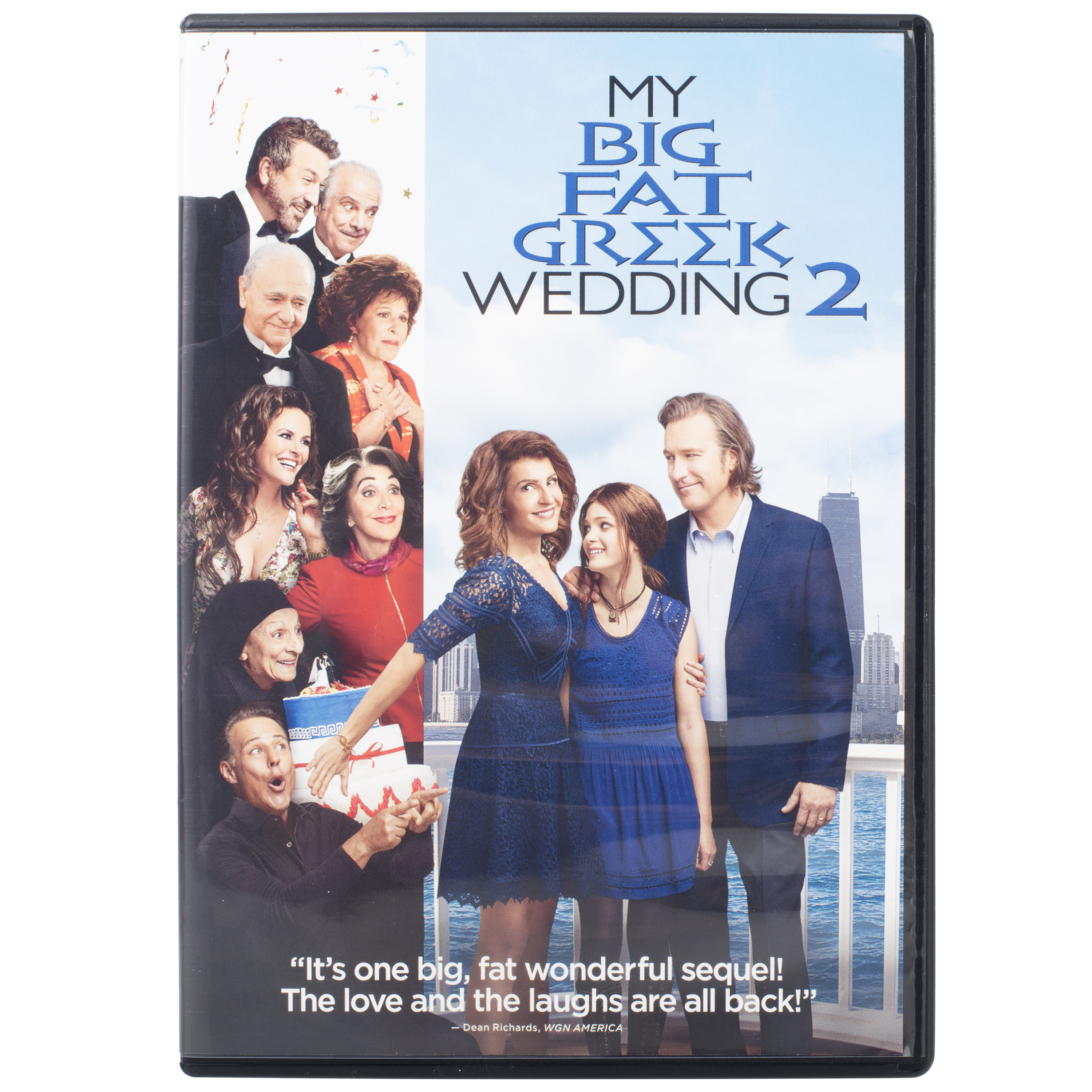 My Big Fat Greek Wedding 2, DVD Disc, Romantic Comedy Movie