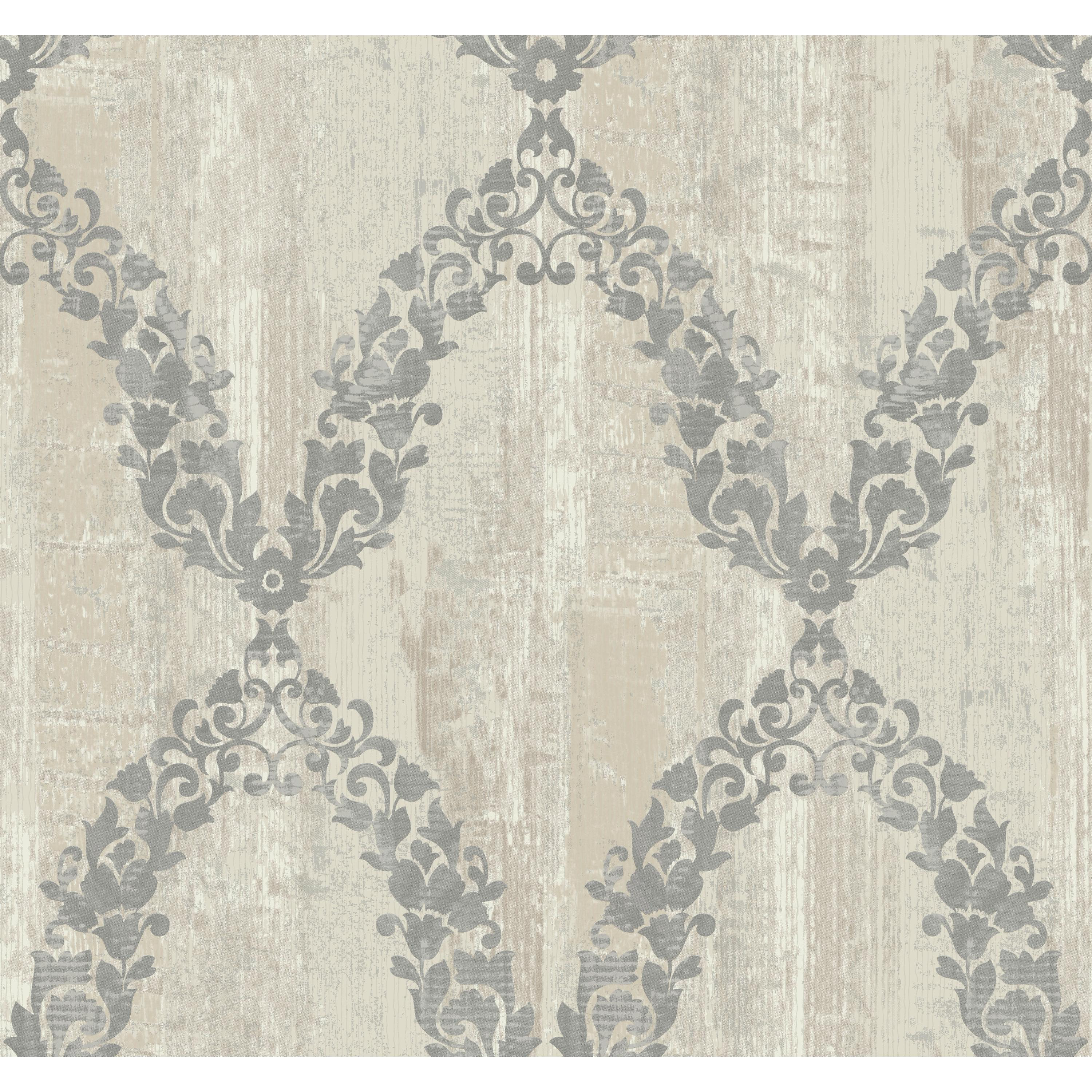 Fells Point Garland Trellis Wallpaper