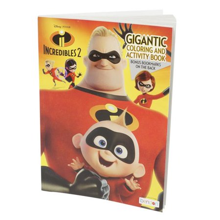 DDI 2332734 The Incredibles 2 Gigantic Coloring & Activity Book, Case of 24 - image 1 de 1