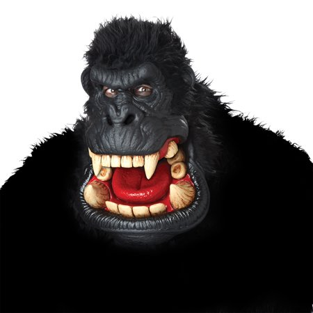 Killa Gorilla Mask Adult Halloween Accessory