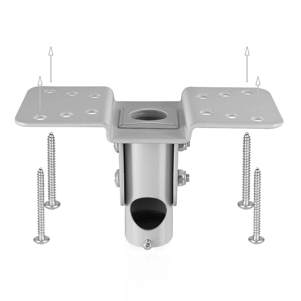 Universal Projector Mount Drop Ceiling LCD//DLP Bracket Holder Plate Adjustable