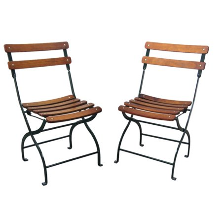 Innova Hearth And Home Folding Patio Dining Chair Set Of 2