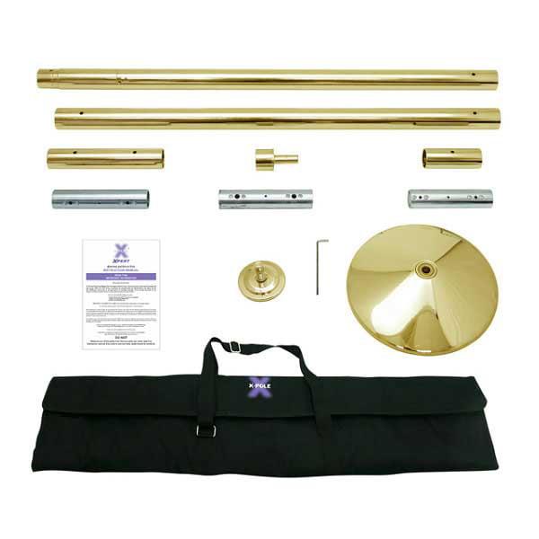 X-Pole X-Pert Pole-45mm-Brass