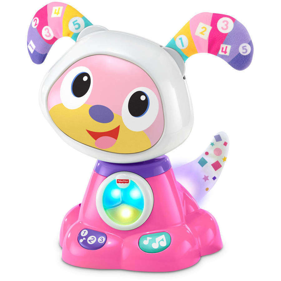 Fisher Price BeatBowWow Interactive Learning Toy, Pink by Mattel