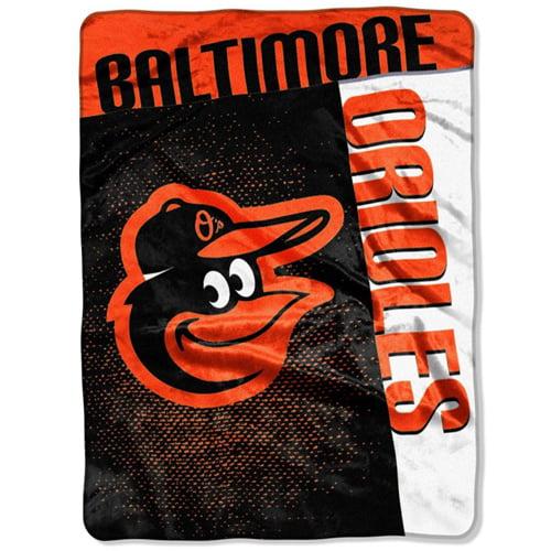 "Baltimore Orioles 60"" x 80"" Strike Raschel Blanket - No Size"