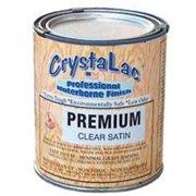 Crystalac Exterior Paint, Clear BRUSH SATIN Q