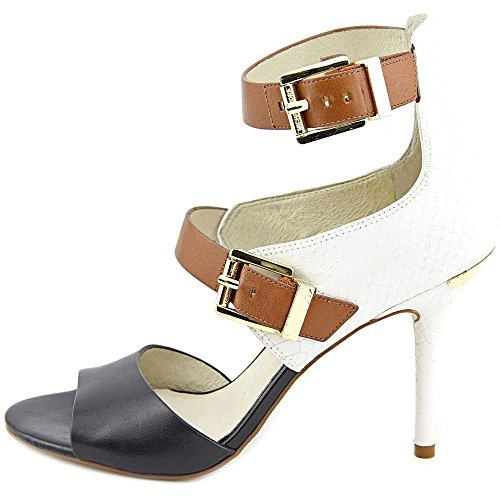 Michael Michael Kors Adriana Ankle Strap Leather Sandals