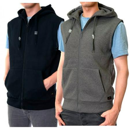Men'S Zipper Hooded Vest 3 Mm Hooded Vest