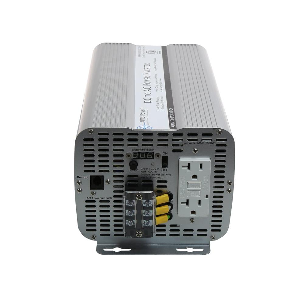 AIMS 3600 Watt Power Inverter ETL Listed