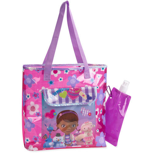 Doc McStuffins Beach Tote with Water Bottle