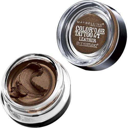 Maybelline New York Maybelline Eyestudio ColorTattoo Leather 24HR Cream Eyeshadow, Chocolate Suede, 0.14 Oz