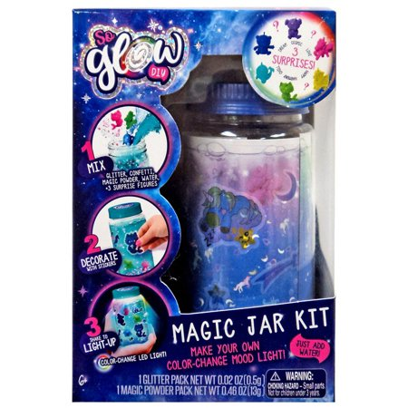 So Glow DIY Magic Jar Dream Kit - Diy Glow Jars