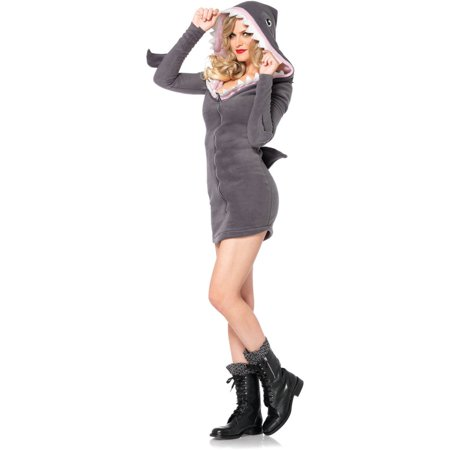 Leg Avenue Women's Cozy Shark Halloween Costume - Shrek Halloween Costume