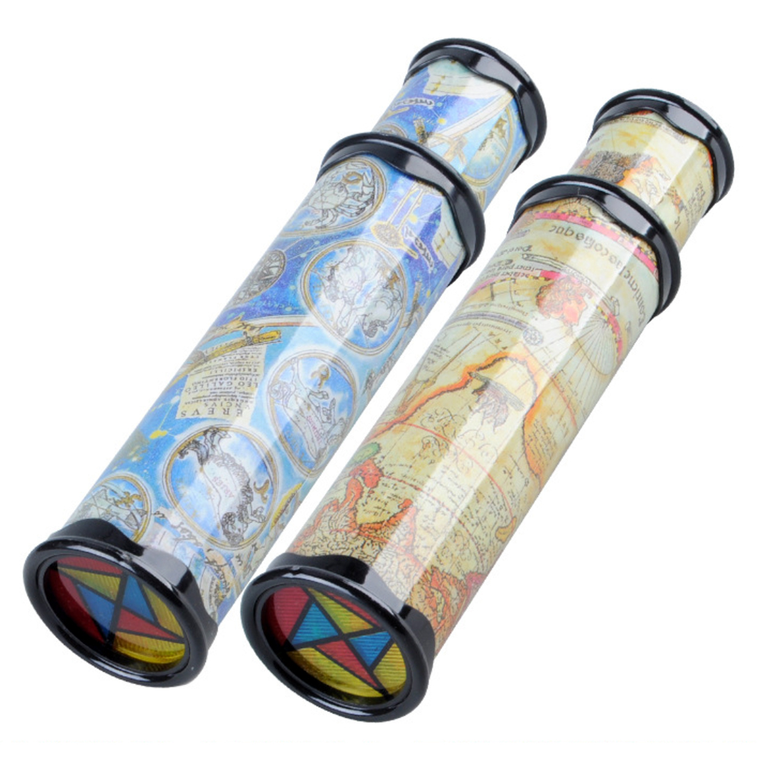 Big Size Plastic Stretchable Magic Kaleidoscope Kids Children Educational Toy - Random Delivery