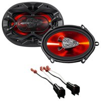 "Boss 5x7"" Front Speaker Replacement Kit For 2008-2010 Ford F-250/350/450/550"