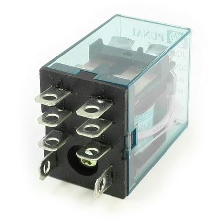 110v Power Supply Box (JQX-13FL  110V Coil DPDT 2NO 2NC 8P General Purpose Power Relay )