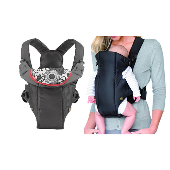 Baby Carrier With Adjustable Back Strap Light And Compact