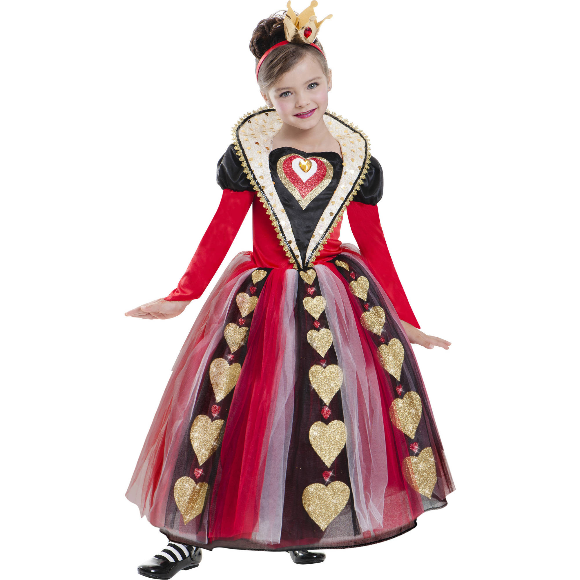 Queen Of Hearts Child Halloween Costume
