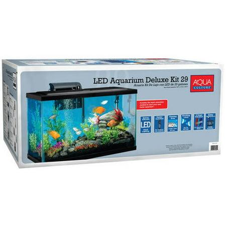 Aqua Culture 29 Gallon Aquarium Starter Kit With Led