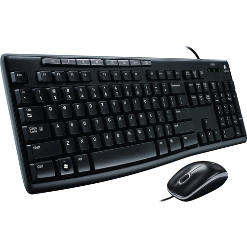 Logitech MK200 Media Keyboard and Mouse