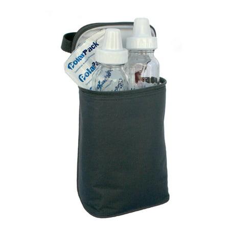 Jl Childress 2 Bottle Twocool Baby Cooler Bag Black