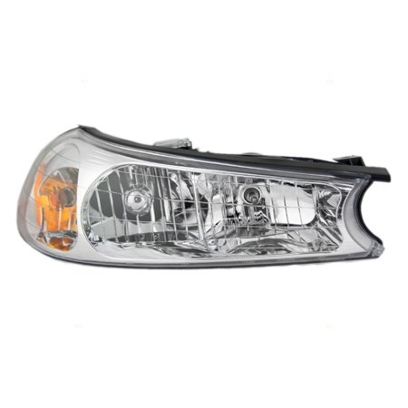 1998-2000 Ford Contour Right Passenger Side Front Headlight Halogen Assembly FO2503145 Side Front Lamp