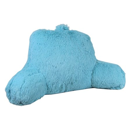 Klear Vu Shaggy Neon Bed Rest Pillow