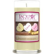Valentine Candy Hearts Candle with Ring Inside (Surprise Jewelry Valued at $15 to $5,000) Ring Size 7