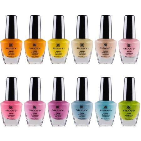 Collection Pastel Nail Set polonais 12 count