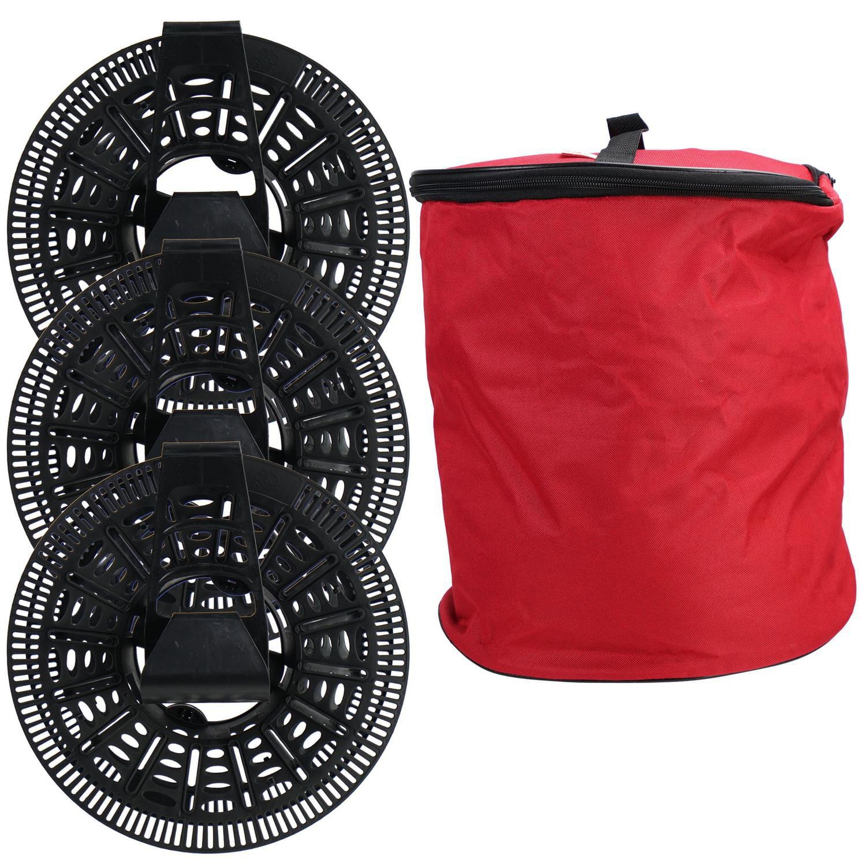 Install n' Store Christmas Light Storage Reel - 3 Spools, Bag and ...