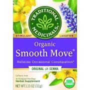Traditional Medicinals, Organic Smooth Move Tea Bags, 16 Ct