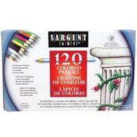 Sargent Art Colored Pencils, 120 colors
