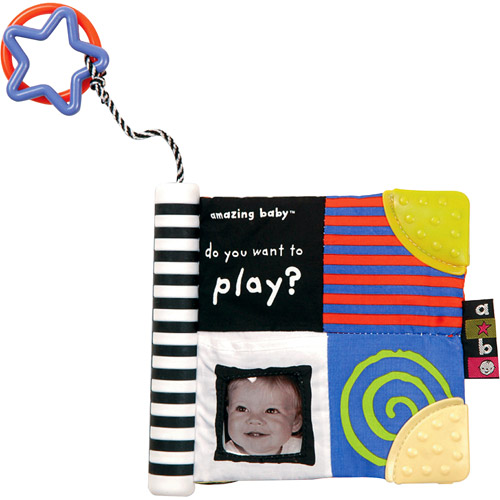 "Kids Preferred - Amazing Baby ""Do You Want To Play?"" Soft Book"