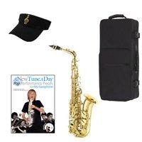 Alto Saxophone Pop Performance Pack - Alto Sax w/Case, Accessories, Pop Performances for Sax Book & Warranty