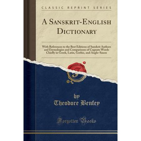 A Sanskrit-English Dictionary (Paperback)