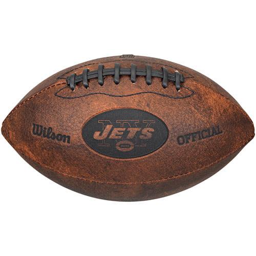 "Wilson NFL 9"" Throwback Football, New Orleans Saints"